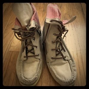 Sperry Canvas High-tops